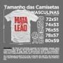 Camiseta Mata Leão  Tks