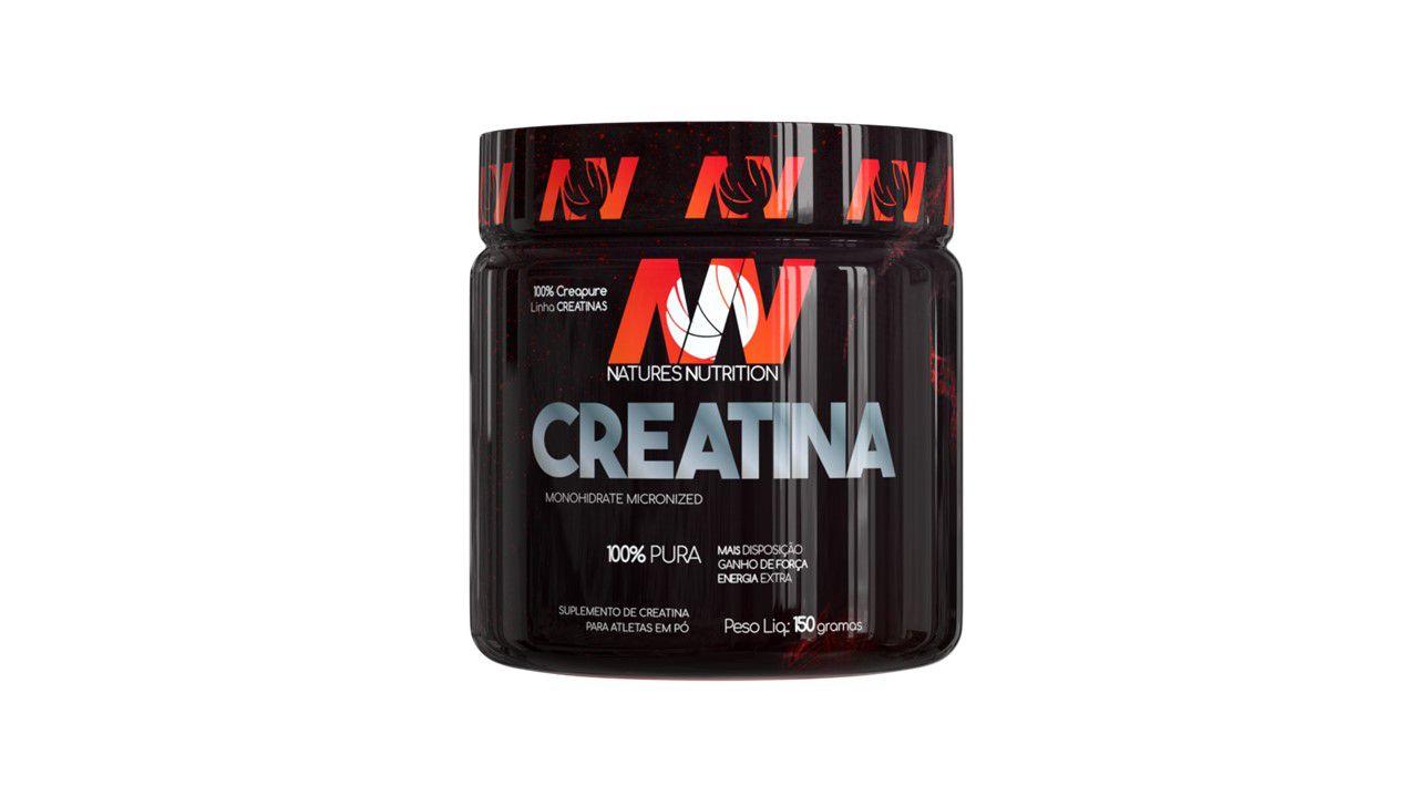 Creatina em pó  150g - Creapure  - Natures Nutrition