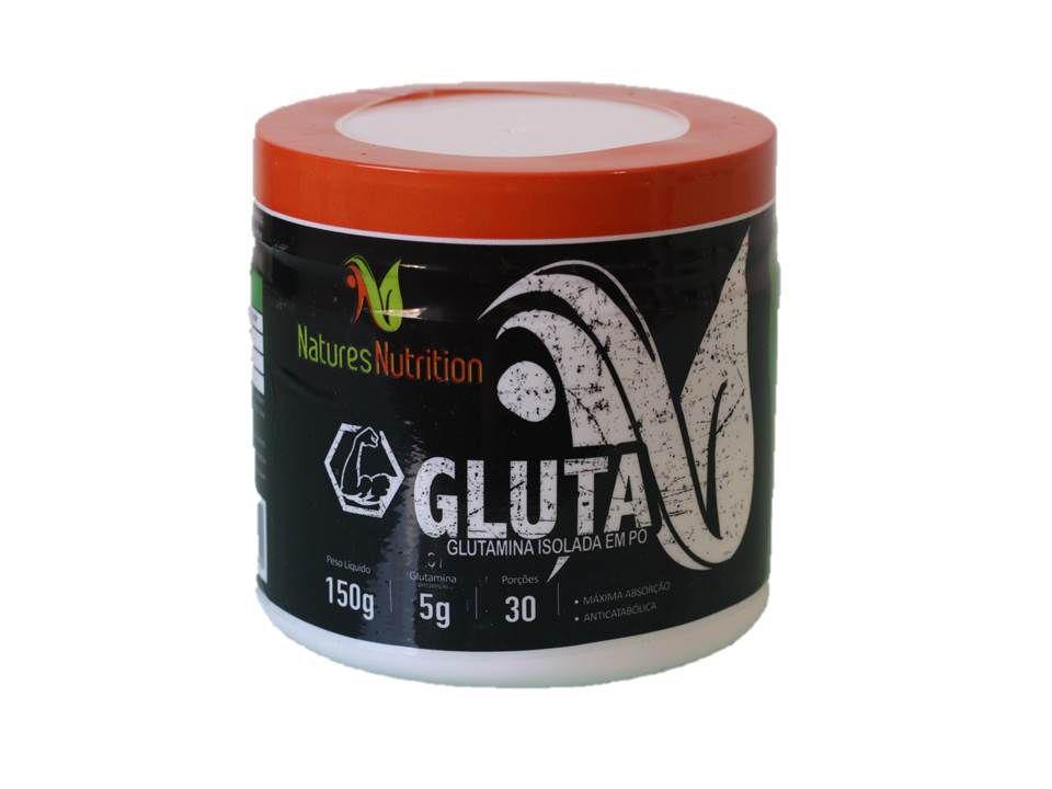 Glutamina Isolada em pó 150g - Natures Nutrition