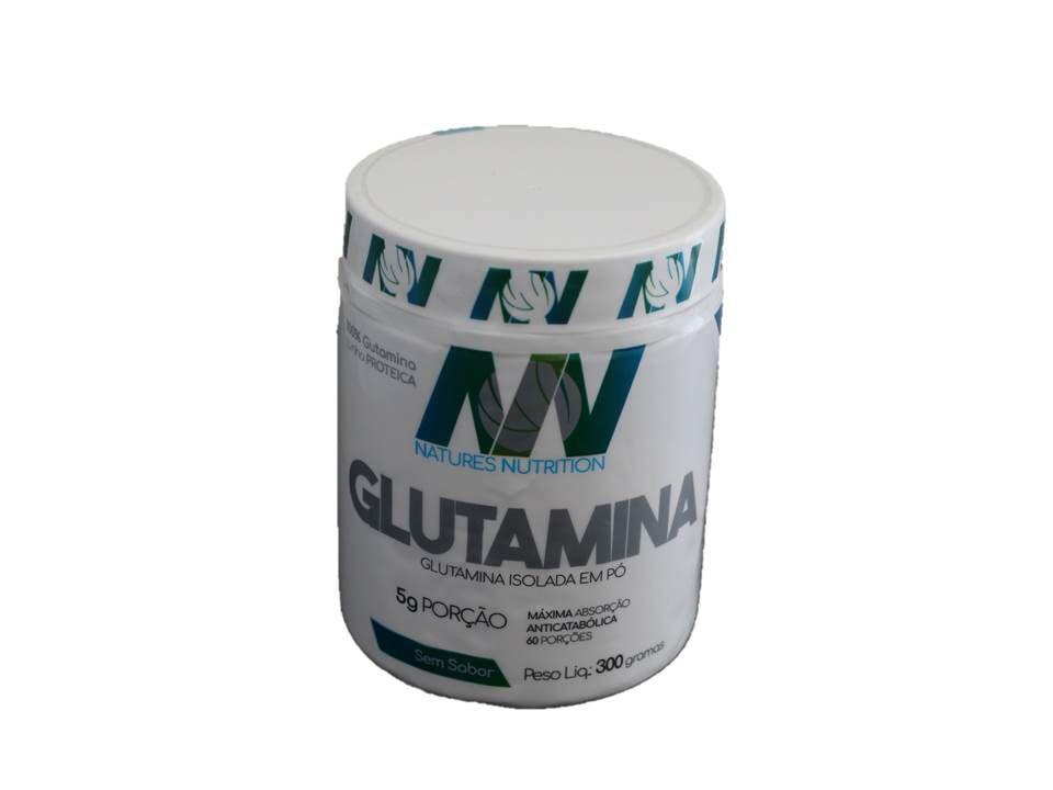 Glutamina Isolada em pó 300g - Natures Nutrition