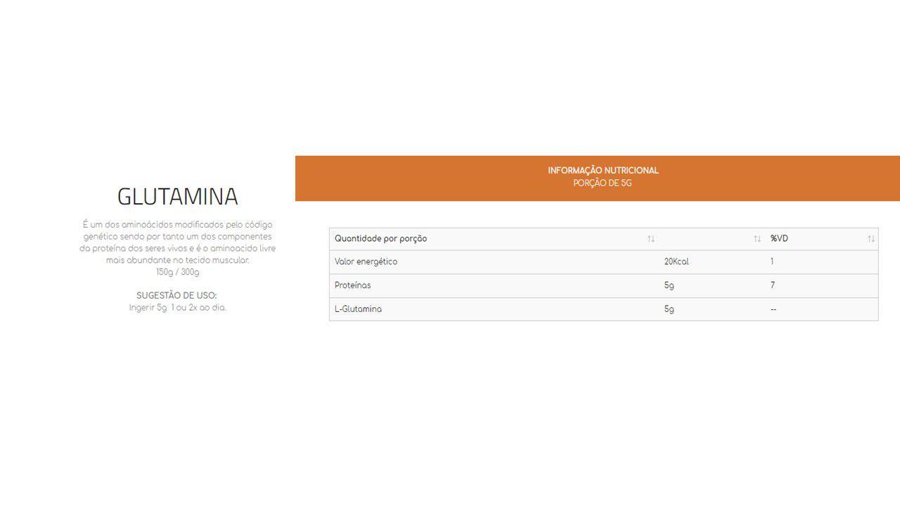 Kit 3x Glutamina 300g + coqueteleira
