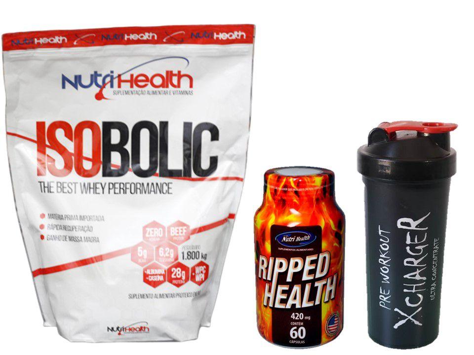 Kit Proteico Isobolic de 1800kg + Cafeina 420mg