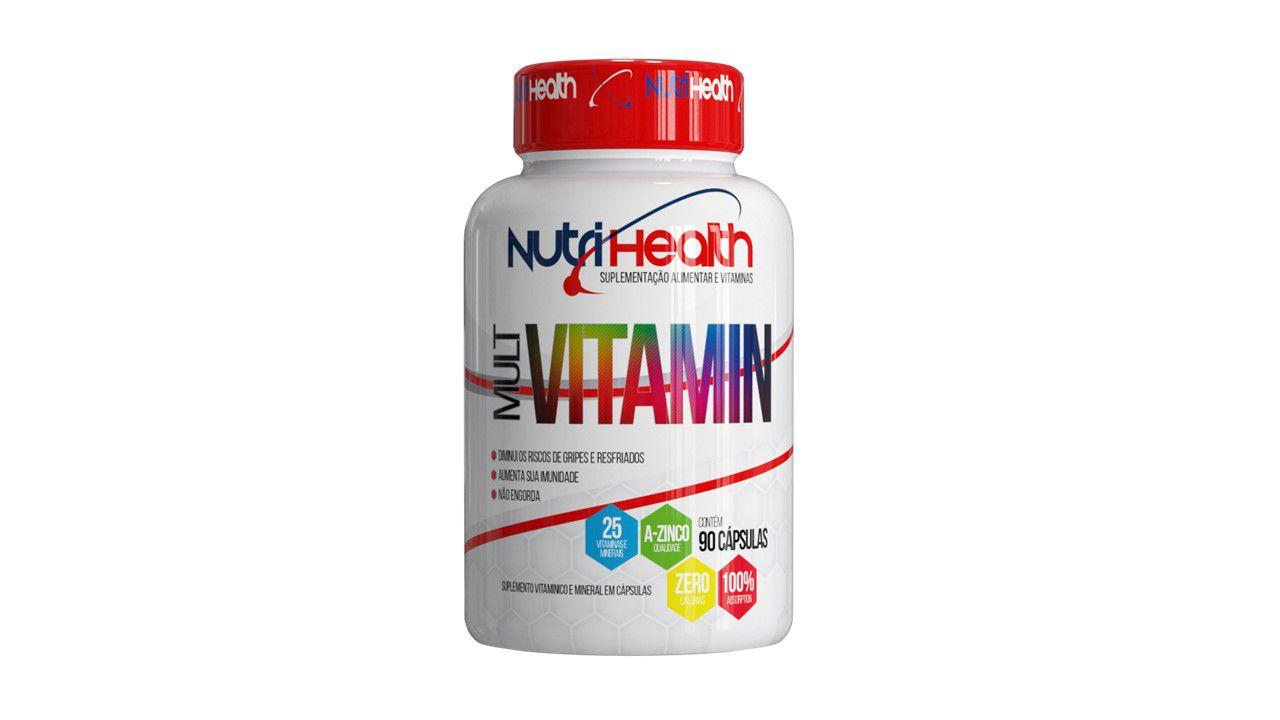 Mult Vitamin - 90 capsulas - Vitaminas de A á Z