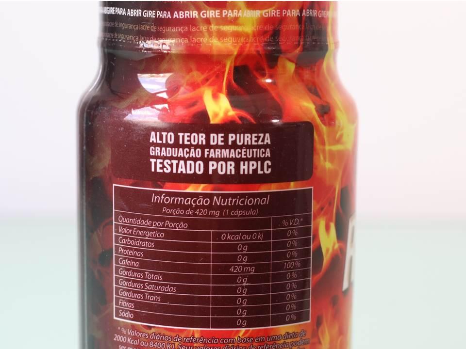Ripped Health 420mg de cafeína - Termogênico - Nutrihealth Suplementos