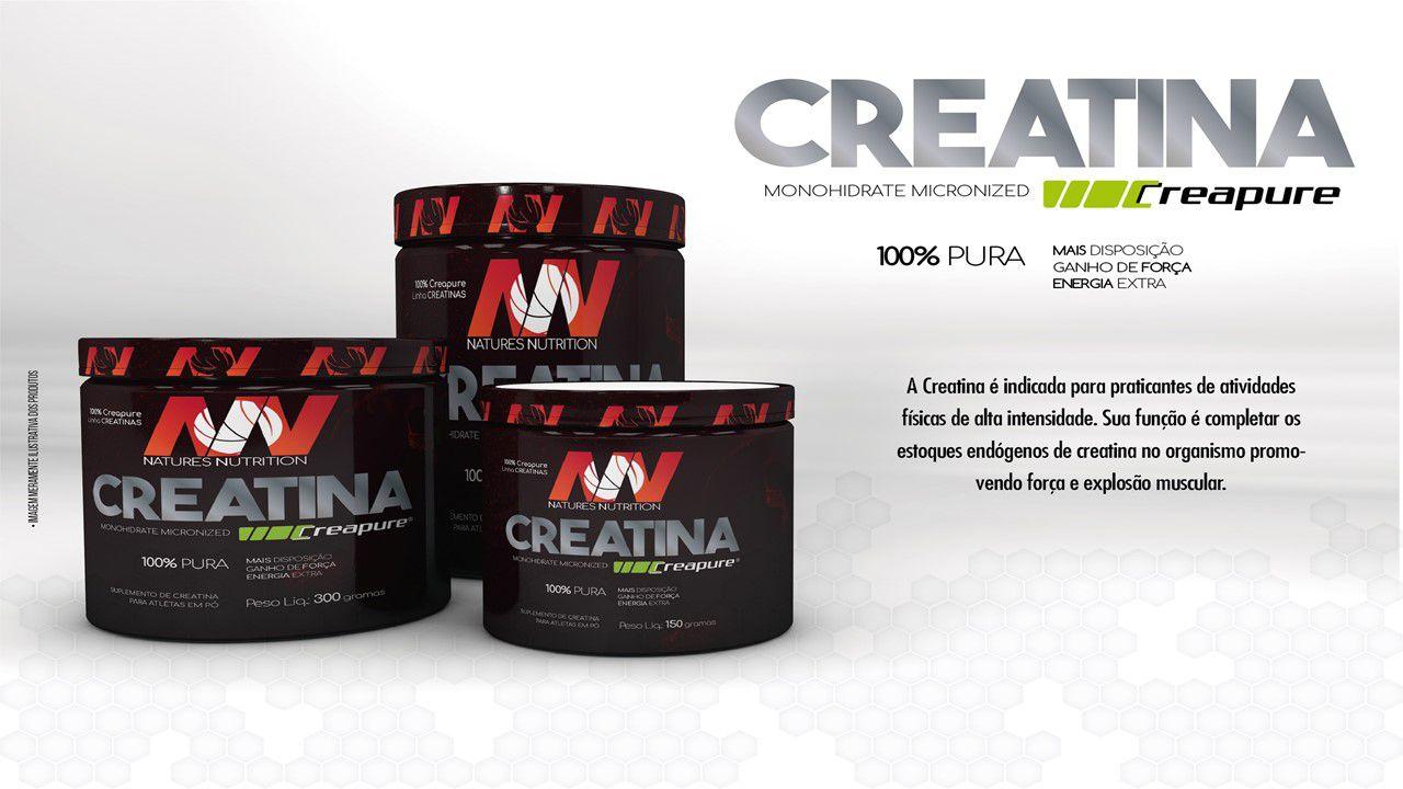 Whey Nature 900g   + Crea 150g + Coqueteleira