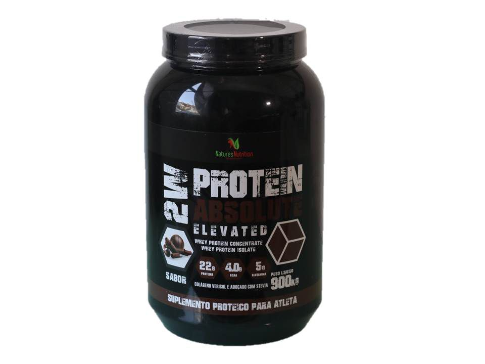 Whey Protein 2W ZERO AÇUCAR - Absolute Elevated 900g - Natures Nutrition