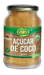 Açúcar de Coco Orgânico 360g - Unilife