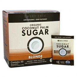 Açúcar de Coco Orgânico 50 sachês 250g - Big Tree Farms