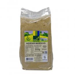 Açúcar Mascavo Orgânico 500g  - Coopernatural