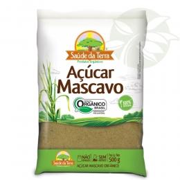 Açúcar Mascavo ORGÂNICO 500g - Saúde da Terra