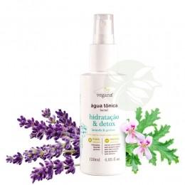 Água Tônica Facial Hidratação & Detox 120ml - Vegana WNF