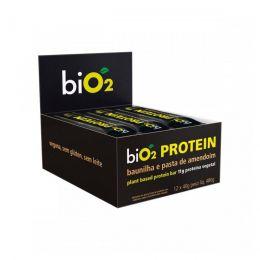 biO2 Protein BAUNILHA E PASTA DE AMENDOIM CAIXA 480g (12x40g) - biO2