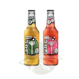 Bebida Gloops Guaraná / Gloops Framboesa 269ml - Gloops