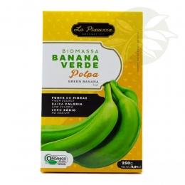Biomassa de Banana Verde Orgânica 250g - La Pianezza