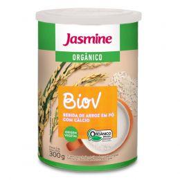 BioV Bebida Orgânica de Arroz com Cálcio ( em pó)  300g - Jasmine