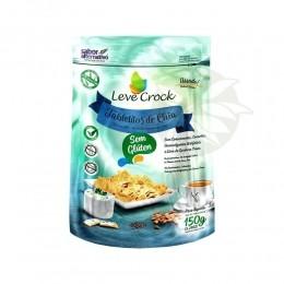 Biscoito Tabletitos de Chia (SEM GLÚTEN) 150g - Leve Crock