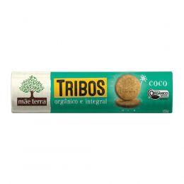 Biscoito Tribos COCO [ Integral e Orgânico ] 130g - Mãe Terra