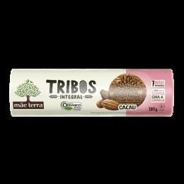 Biscoito Tribos Cacau [ Integral e Orgânico ] 130g - Mãe Terra