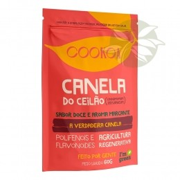 CANELA DO CEILÃO 60g - Cookoa