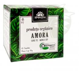 Chá Amora Orgânico (10 Sachês) - Kampo de Ervas