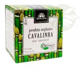 Chá Cavalinha Orgânico (10 Sachês) - Kampo de Ervas