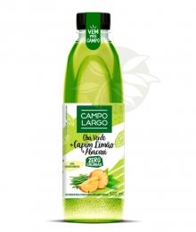 Chá Funcional - Chá Verde, Capim Limão & Abacaxi 900ml Campo Largo