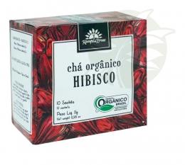 Chá Hibisco Orgânico (10 Sachês) - Kampo de Ervas