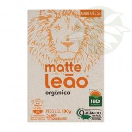 Chá Mate Natural Orgânico 100g - Matte Leão