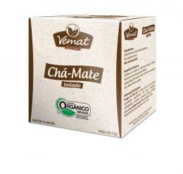 Chá Mate Tostado Orgânico (10 Sachês)  - Vemat