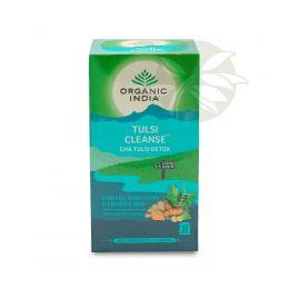 Chá Tulsi DETOX CLEANSE (25 Sachês) - Organic India