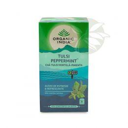 Chá Tulsi PEPPERMINT™  Hortelã Pimenta (25 Sachês) - Organic India™
