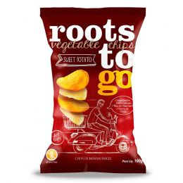 Chips Batata Doce Sweet Potato 100g - Roots to Go