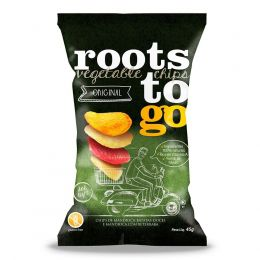 Chips Batata Original Mix Raízes 100g - Roots To Go