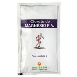 Cloreto de Magnésio P.A Sachê (1x33g) - Meissen
