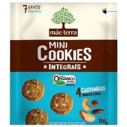 Cookies Orgânicos 4 Castanhas 120g - Mãe Terra