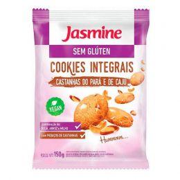 Cookies SEM GLÚTEN Castanha do Pará e Cajú 150g  - Jasmine