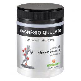 Magnésio Quelato (c/ 60 e 120 Cápsulas) - Meissen
