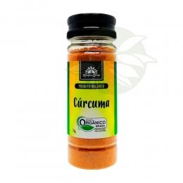 Cúrcuma / Cúrcuma com Pimenta - Orgânica 70g - Kampo de Ervas