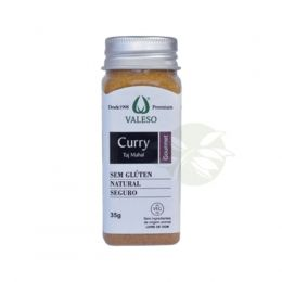 Curry TAJ MAHAL Agroecologico 35g - Valeso