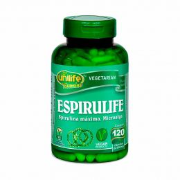 Espirulina 500mg (60 Cápsulas Vegetarianas) - Unilife