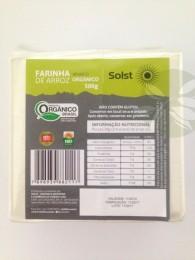Farinha de Arroz Orgânico 500g - Solst