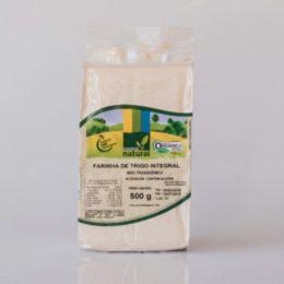 Farinha de Trigo Integral Orgânica 500g  - Coopernatural