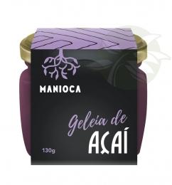 Geleia Açaí  100% Natural 130g - Manioca