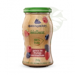 Geleia de Frutas Vermelhas Wellness - 250g Queensberry