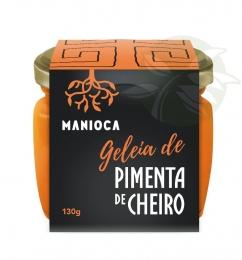 Geleia de Pimenta de Cheiro 100% Natural 130g - Manioca