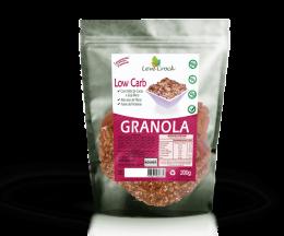 Granola Low Carb sem Glúten Nibs de Cacau Gojiberry 200g - Leve Crock