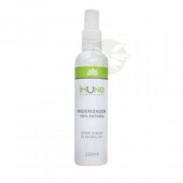 Imuno Higienizador Spray Álcool 70 e Óleos Essenciais 200ml - WNF