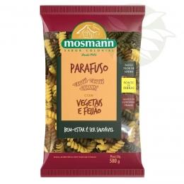 Massa Parafuso Vegetais & Feijão 500g - Mosmann