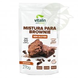Mistura para Brownie Integral Vitalin - Sem Glúten 270g