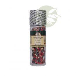 Mix de Pimentas Agroecológicas & Moedor (Rosa, Branca e Preta) 40g - Valeso
